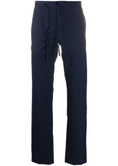 Maison Margiela drawstring straight-leg trousers