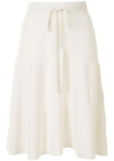 Maison Margiela drawstring waist skirt