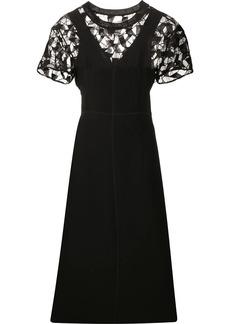 Maison Margiela lace panelled midi dress