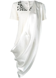 Maison Margiela dress panelled T-shirt