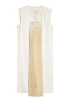 Maison Margiela Dress with Pleated Chiffon