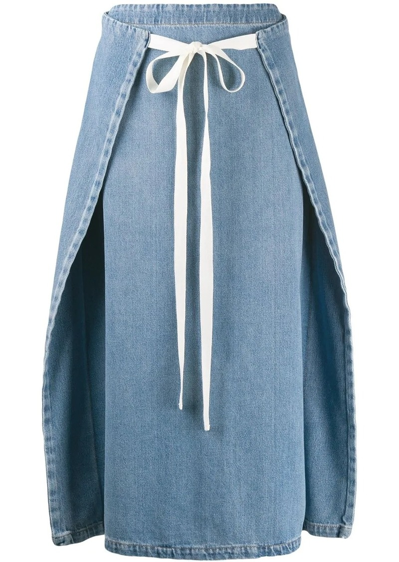 Maison Margiela dual-wear denim skirt
