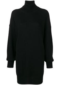 Maison Margiela elbow patch turtleneck sweater dress