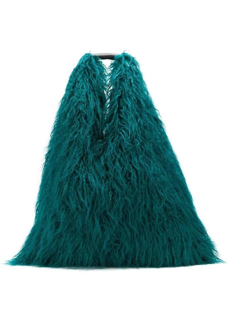 Maison Margiela faux-fur shoulder bag