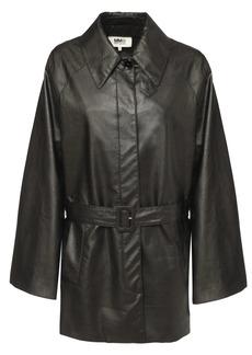 Maison Margiela Faux Leather Jacket