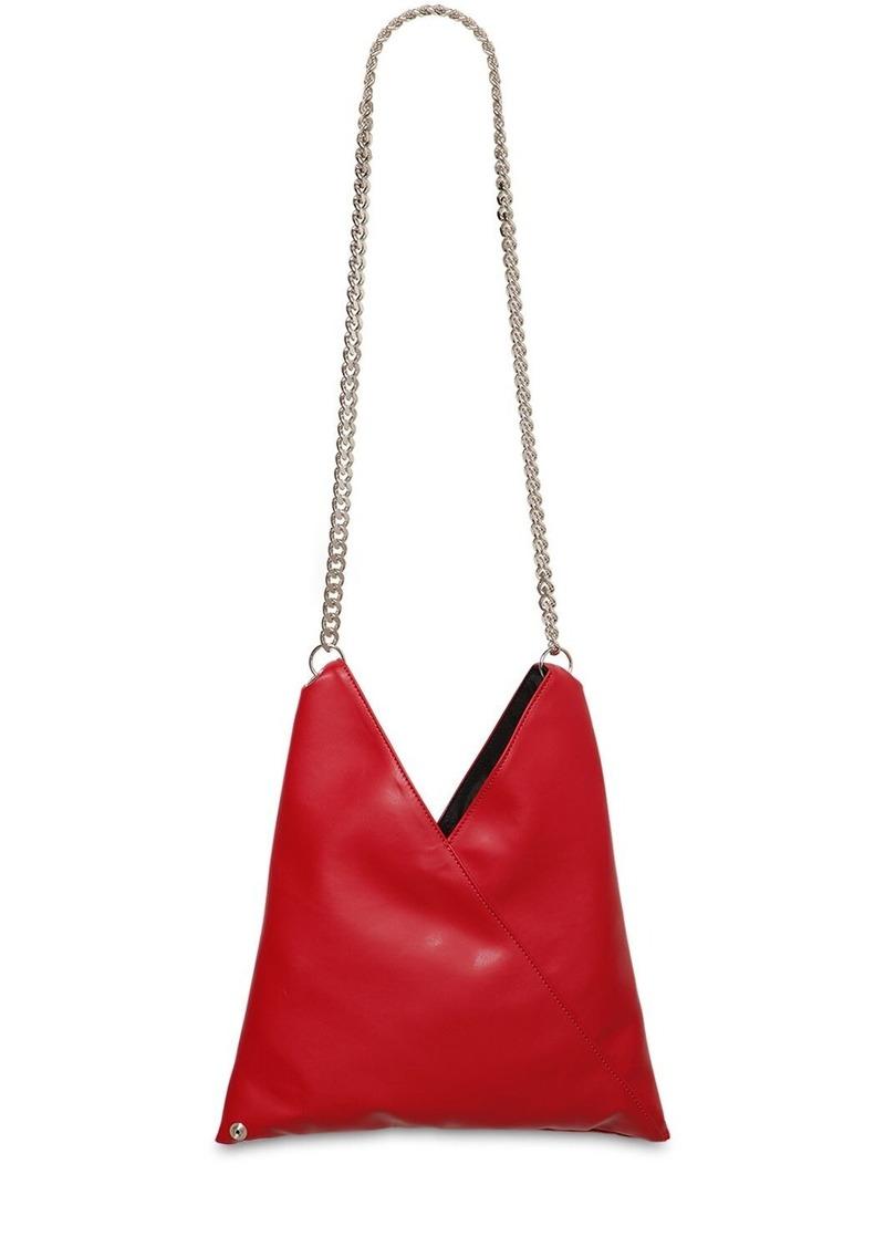 Maison Margiela Faux Leather Shoulder Bag