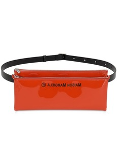 Maison Margiela Faux Patent Leather Belt Bag