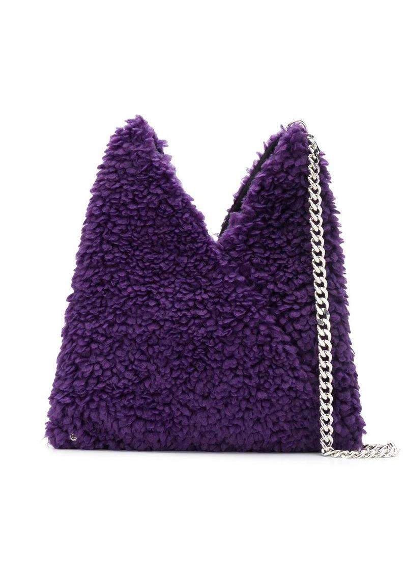 Maison Margiela faux-shearling shoulder bag
