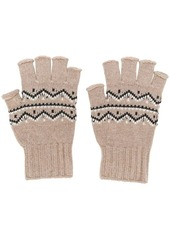 Maison Margiela fingerless knitted gloves