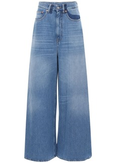 Maison Margiela Flared Cotton Denim Jeans
