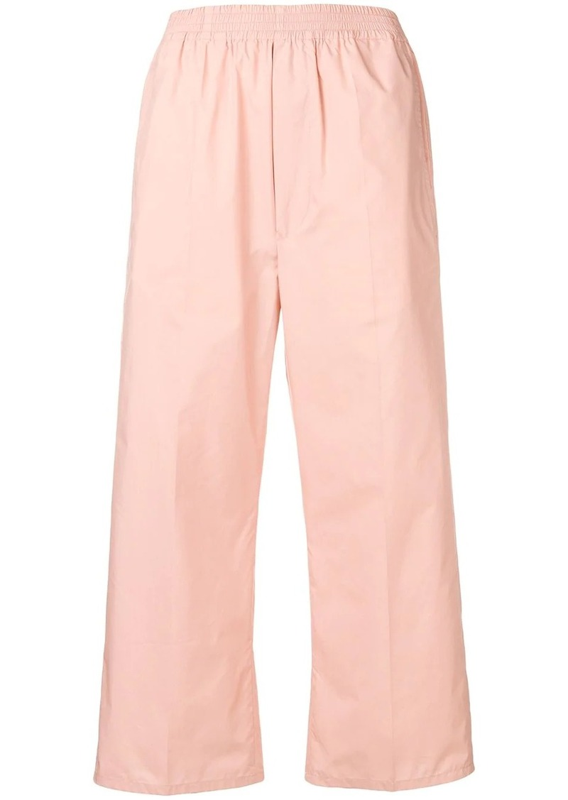 Maison Margiela flared cropped trousers
