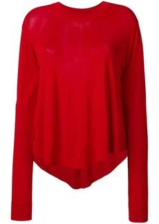 Maison Margiela flared style sweater