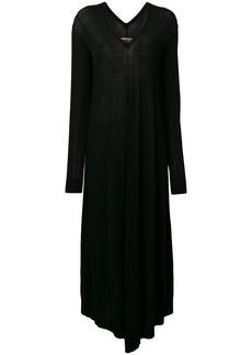 Maison Margiela flared V-neck dress