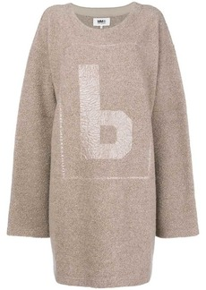 Maison Margiela fleece jumper dress