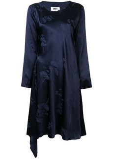 Maison Margiela floral embroidered dress