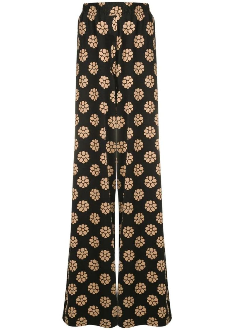 Maison Margiela floral print palazzo pants