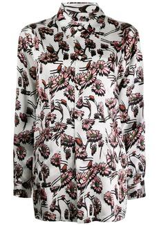 Maison Margiela floral print shirt