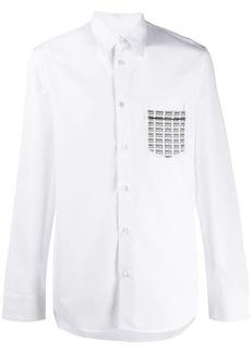 Maison Margiela Fragile print pocket shirt