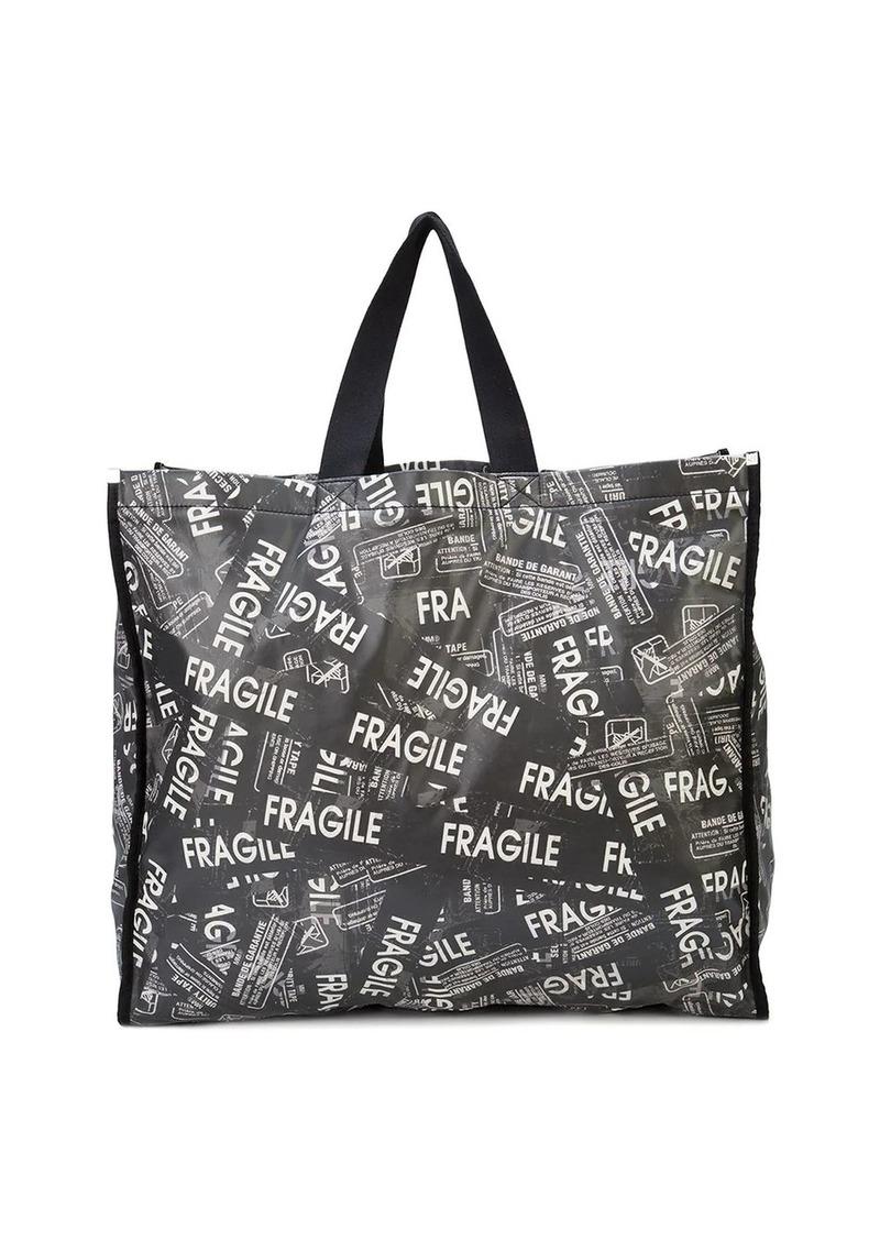 Maison Margiela Fragile print tote