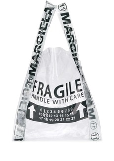 Maison Margiela Fragile shopper tote