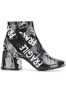 Maison Margiela Fragile tape ankle boots