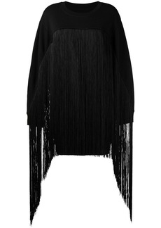 Maison Margiela fringed oversized sweater
