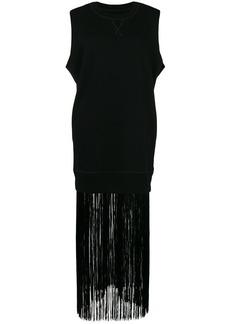 Maison Margiela fringed sweat tank dress