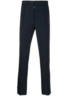Maison Margiela front pleat wool-blend trousers
