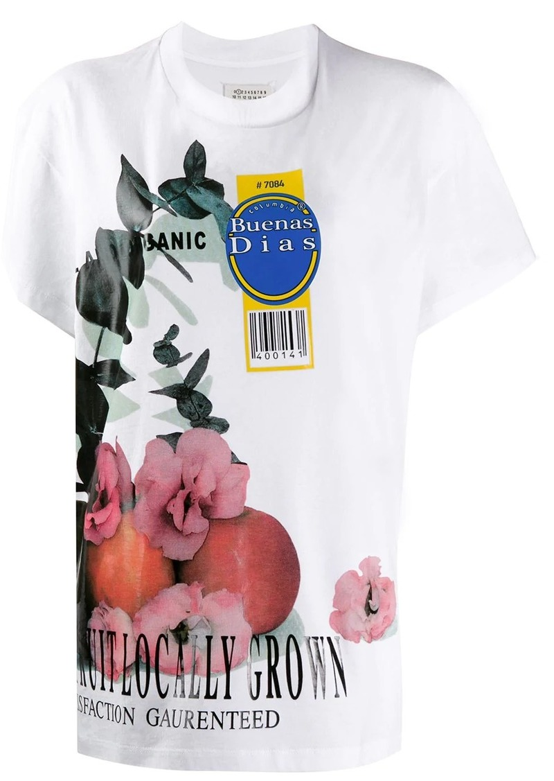 Maison Margiela fruit print T-shirt