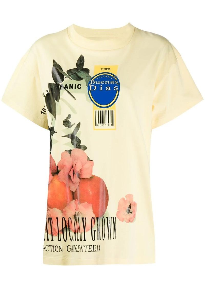 Maison Margiela fruit print T-shirt