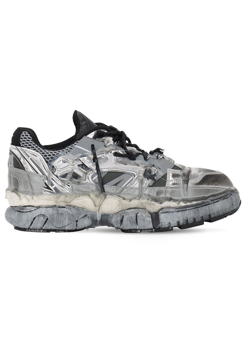 Maison Margiela Fusion Leather Low Top Sneakers