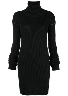 Maison Margiela gauge ribbed dress