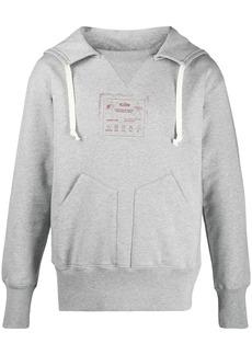 Maison Margiela graphic-print cotton hoodie