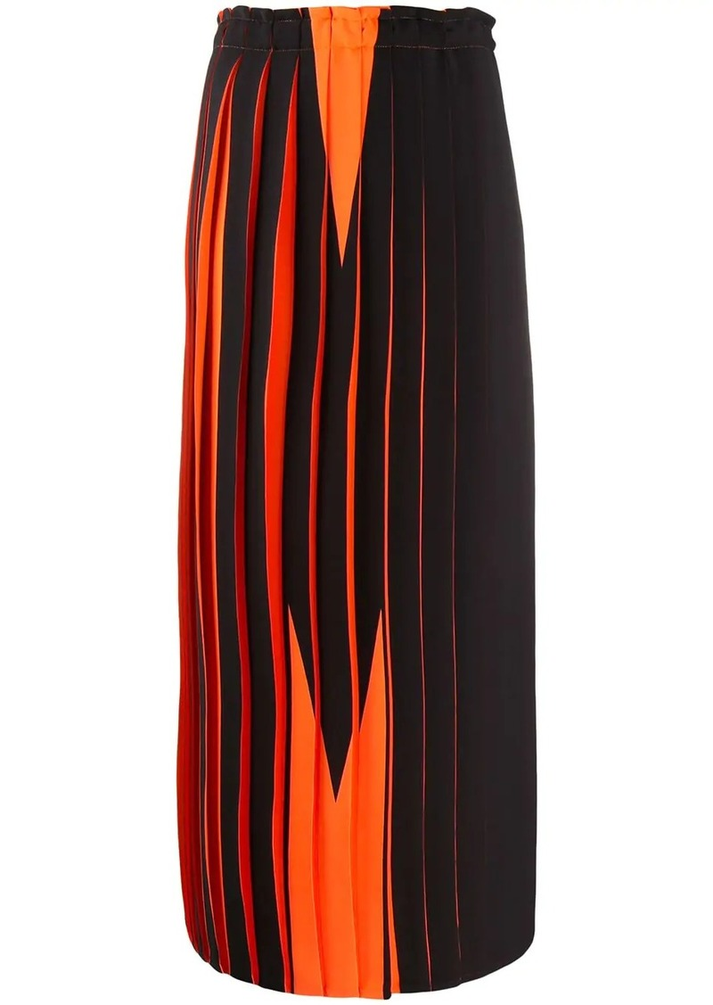 Maison Margiela graphic print skirt