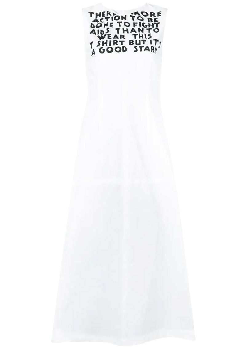 Maison Margiela graphic shift dress