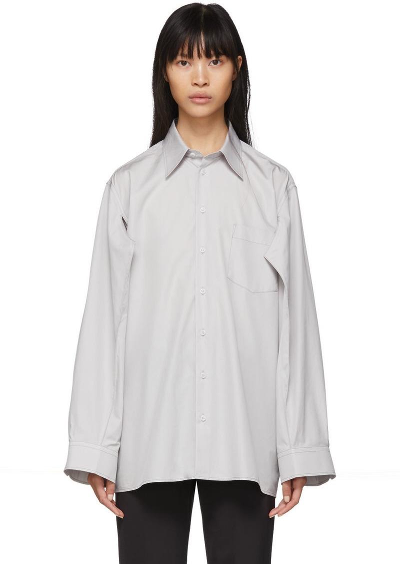 Maison Margiela Grey Double Arm Shirt