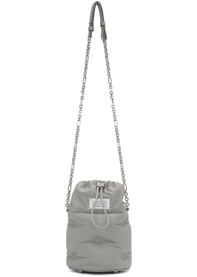 Maison Margiela Grey Glam Slam Bucket Bag