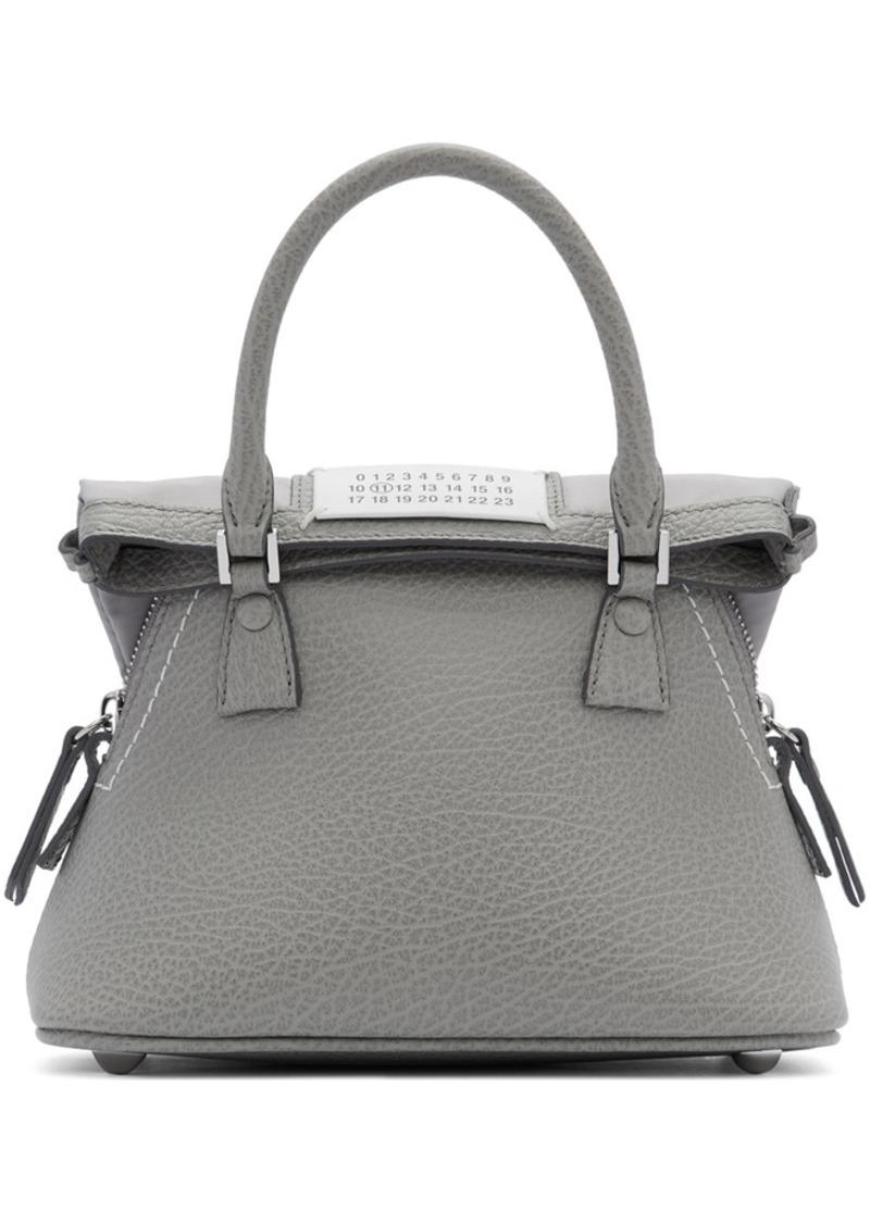 Maison Margiela Grey Small 5AC Bag