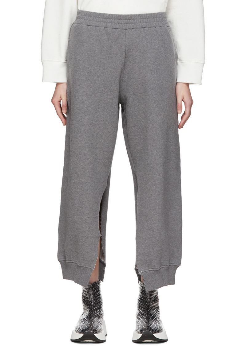 Maison Margiela Grey Split Seam Lounge Pants