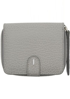 Maison Margiela Grey Square Zip-Around Wallet