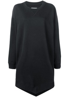Maison Margiela handkerchief hem sweatshirt dress