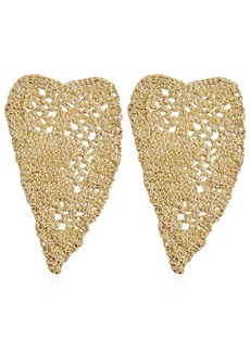 Maison Margiela Heart Crochet Earrings