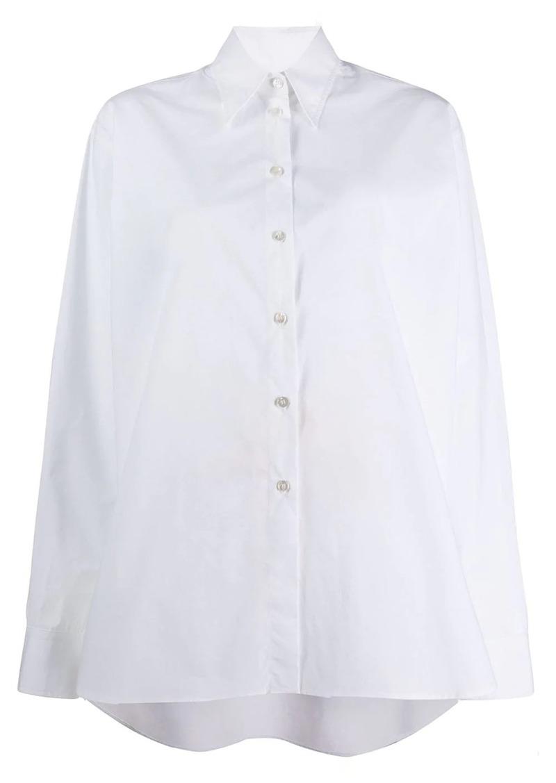 Maison Margiela high-low hem shirt