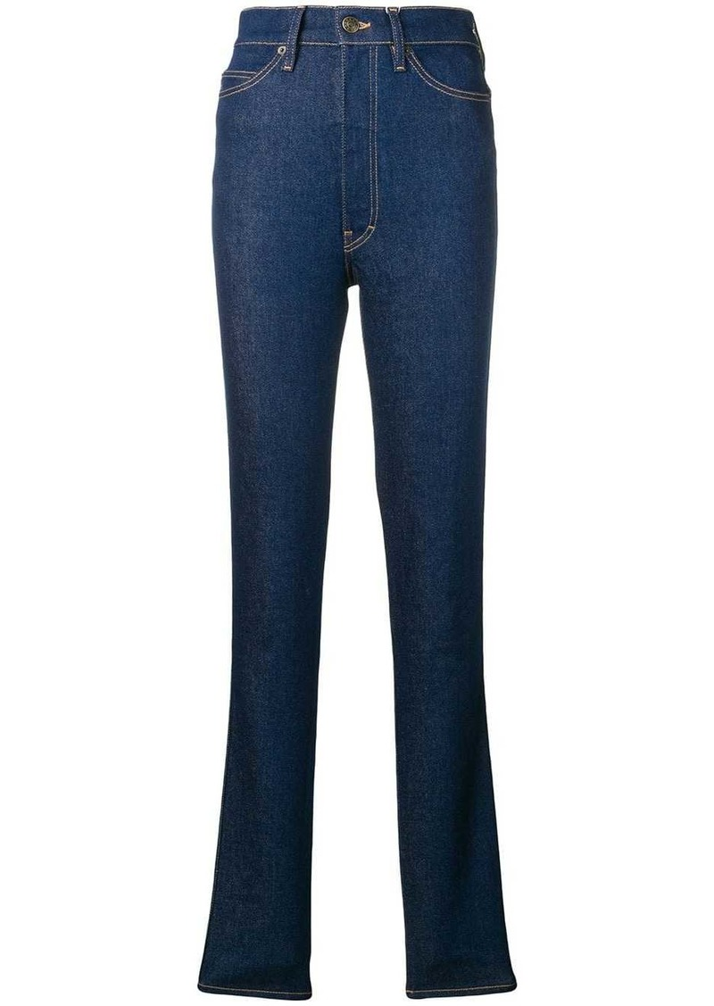 Maison Margiela high-rise skinny trousers
