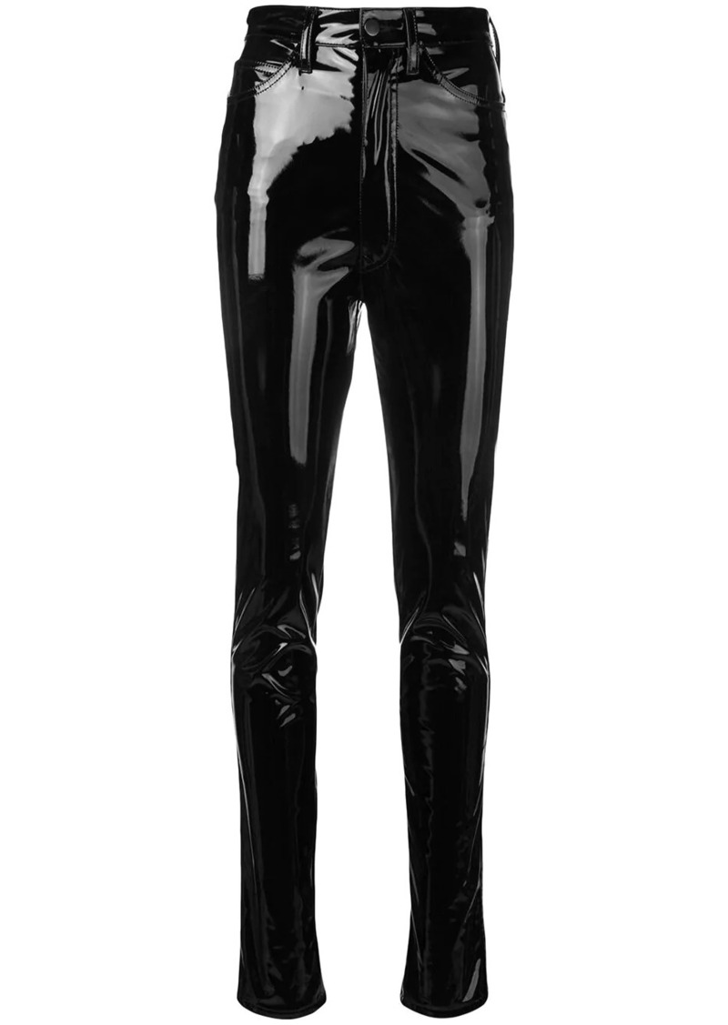 Maison Margiela high-waist skinny trousers
