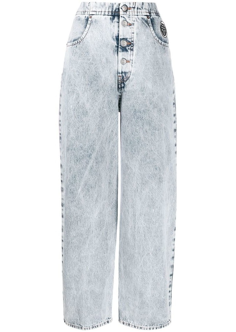 Maison Margiela high-waisted boyfriend jeans