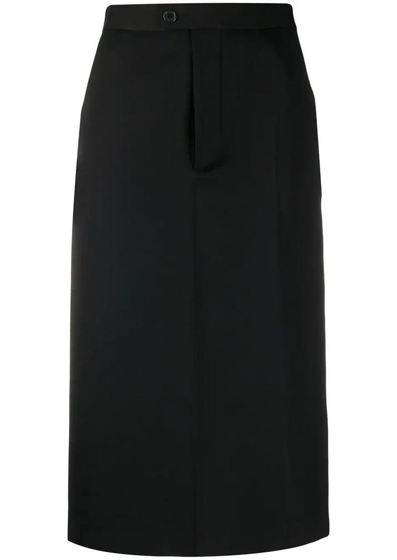 Maison Margiela high-waisted pencil skirt