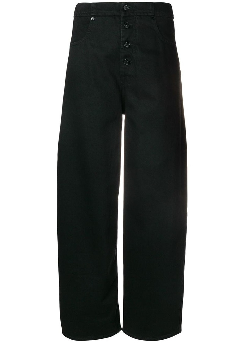 Maison Margiela high waisted tailored trousershigh