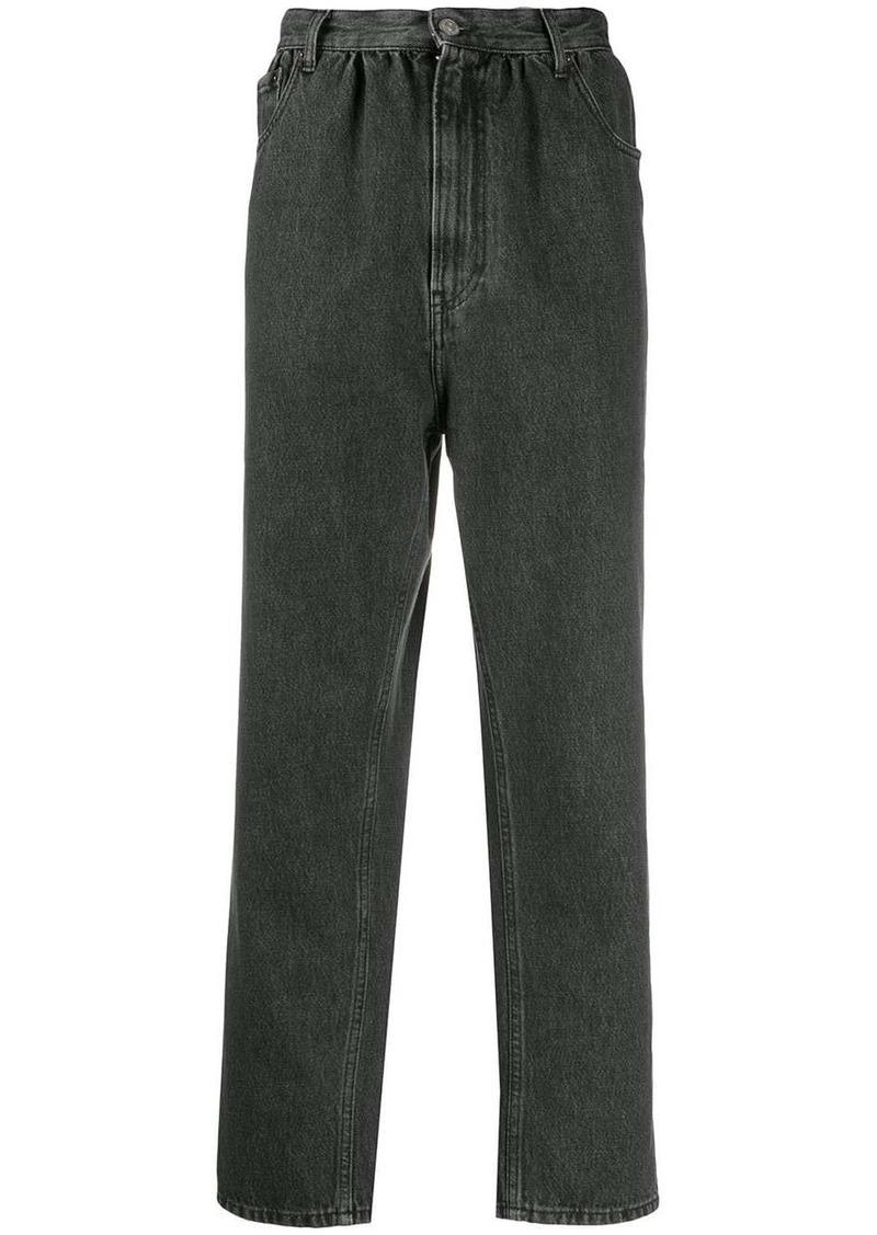 Maison Margiela high waisted tapered jeans