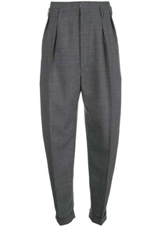 Maison Margiela high waisted tweed trousers